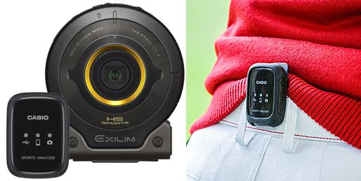 ゴルフ用ウェアラブルセンサー CMT-S10G
